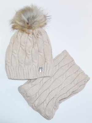 Комплект: шапка і шарф-снуд   5211831