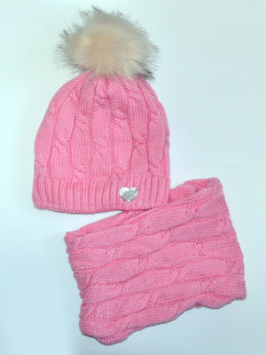Комплект: шапка і шарф-снуд   5211832