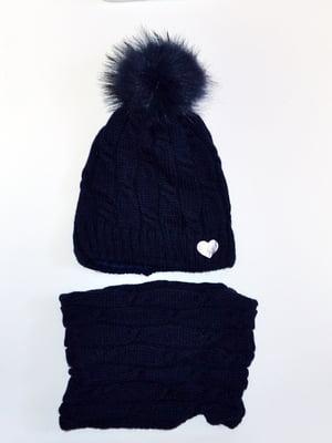 Комплект: шапка і шарф-снуд | 5211833