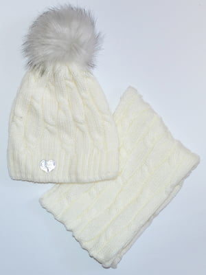 Комплект: шапка і шарф-снуд   5211834
