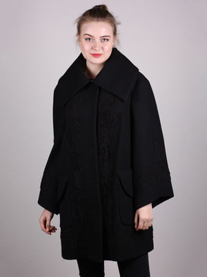 Пальто чорне - Riccardo - 5205101