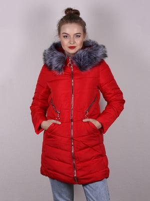 Пальто красное | 5205106