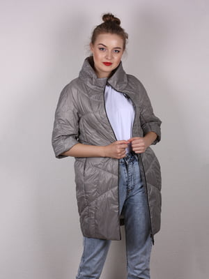 Пальто серое   5205117