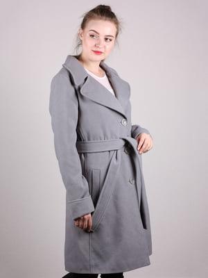 Пальто сіре | 5205169