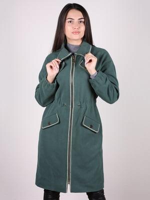 Пальто зеленое   5205177
