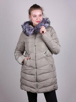 Пальто оливкового цвета | 5205263