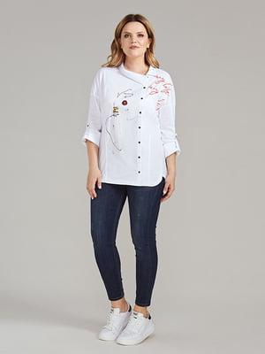 Блуза белая | 5213485