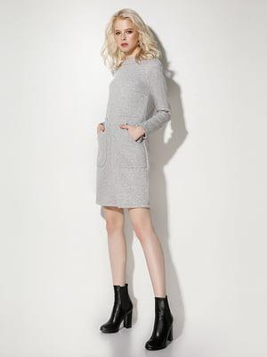 Платье серое | 5213489