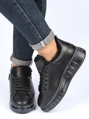 Кроссовки черные | 5213639