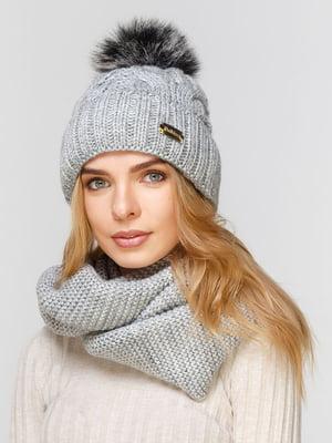 Комплект: шапка і шарф-снуд   5211014