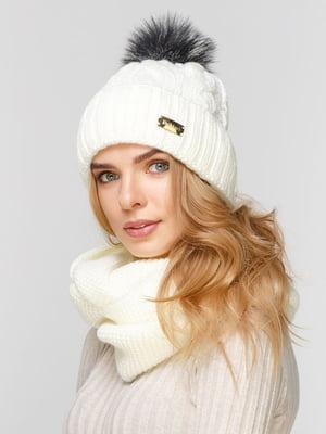 Комплект: шапка і шарф-снуд | 5211016