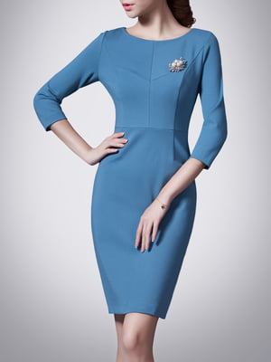 Платье синее | 5214225