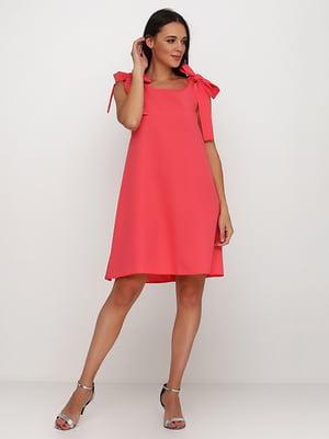 Платье кораллового цвета | 5214393