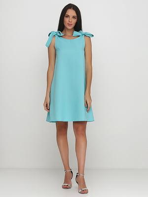 Платье мятного цвета | 5214394