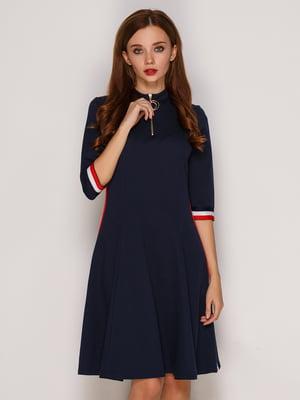 Сукня темно-синього кольору | 5206135
