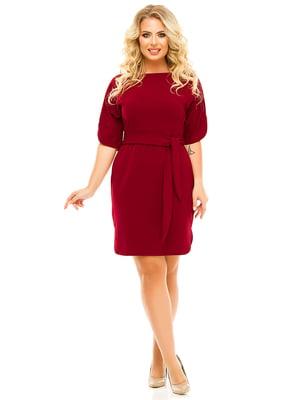 Сукня бордова | 5215504