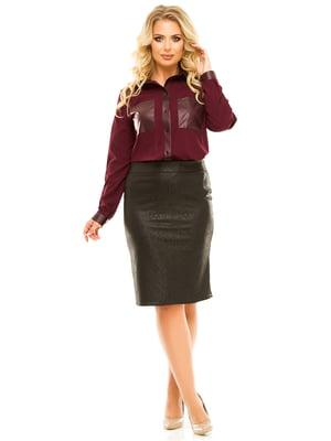 Блуза сливового цвета | 5215511
