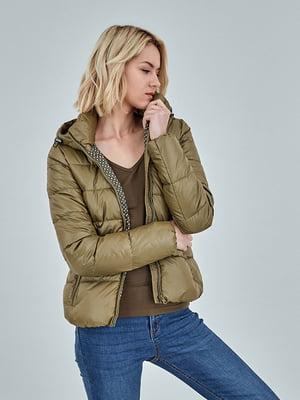 Куртка оливкового цвета | 5198634