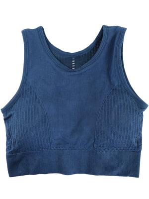 Топ синій | 5215272