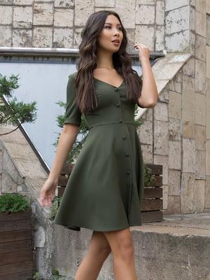 Платье цвета хаки | 5203431
