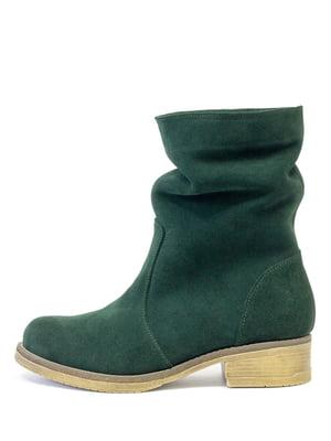 Ботинки зеленые | 5216201