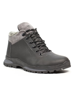 Ботинки черно-серые | 5209220