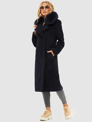 Пальто синее | 5216065