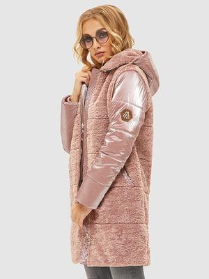 Пуховик рожевий | 5216083