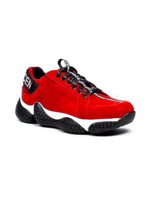 Кроссовки красные   5213239