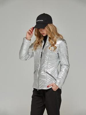 Куртка срібляста | 5216116