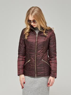 Куртка бордовая | 5216118