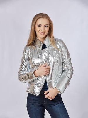 Куртка срібляста | 5216185