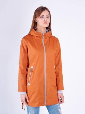 Плащ оранжевый | 5216177