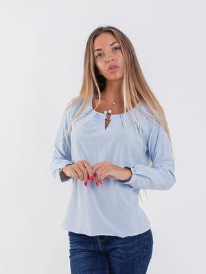 Блуза блакитна | 5216770