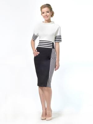 Сукня двоколірна | 4724034