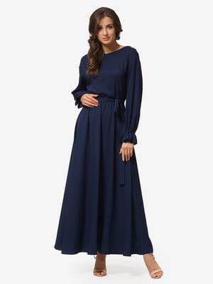 Платье темно-синее | 5216959