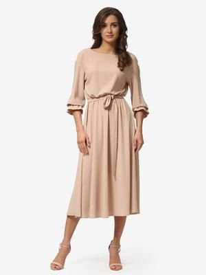 Платье песочного цвета | 5216961