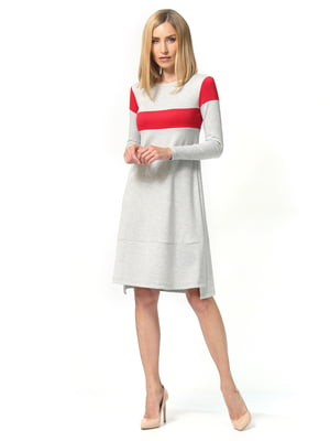 Сукня світло-сіра | 5216968