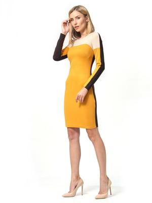 Сукня гірчичного кольору | 5216969