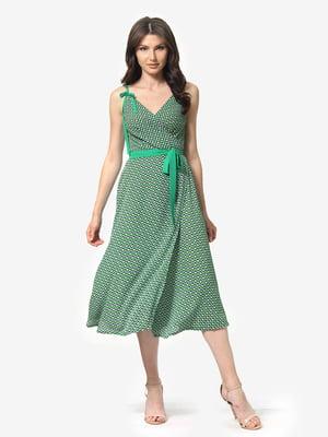 Сарафан зеленый | 5216983