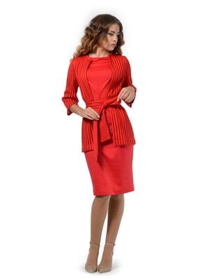 Комплект: платье и кардиган   5217003