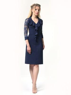 Сукня темно-синя | 5217006