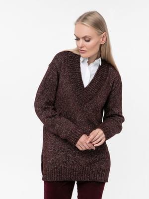 Пуловер бордовый   5217210