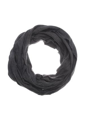 Шарф-снуд темно-серый | 5217697