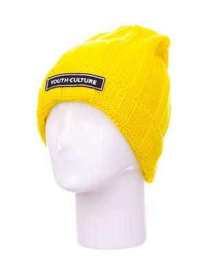 Шапка жовта | 5217755
