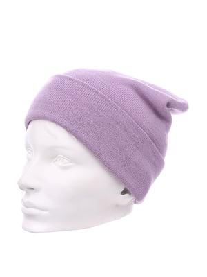 Шапка фиолетовая | 5217756