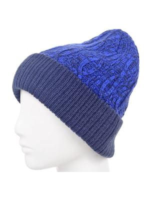 Шапка синя | 5217850