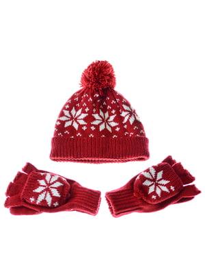 Комплект: шапка и перчатки   5217904