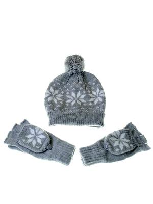 Комплект: шапка и перчатки | 5217905