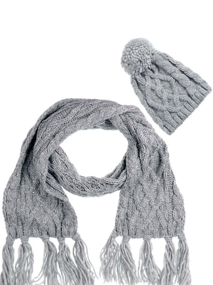 Комплект: шапка і шарф | 5217907